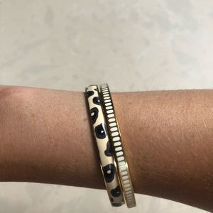 kate spade Jewelry - Gorgeous Kate Spade ♠️ & J.Crew Bangle Duo!